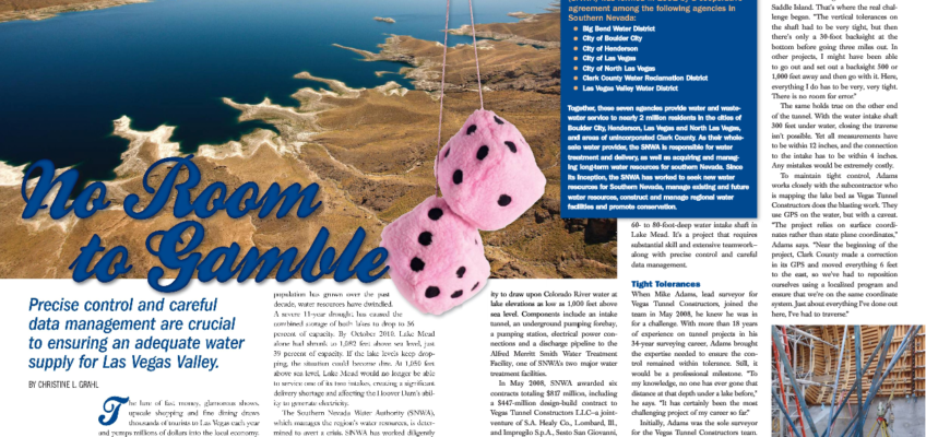Article: Mike Adams uses TPC on Lake Mead