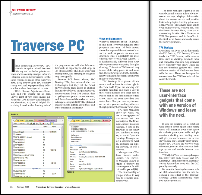 Review: Traverse PC 2014