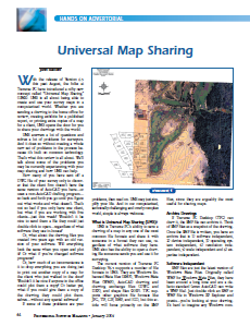 Universal Map Sharing