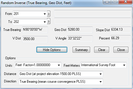 Geodetic Random Inverse, Traverse PC Land Surveying Software, Land Survey Software, Land Surveyor Software, COGO software, CAD Software, Drawing Software, Map Software, Mapping Software, Cadastral Software, Geodetics, PLSS, GIS Software, Construction Software