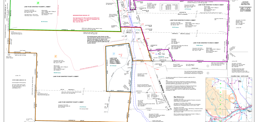 Daniel L. Barry Land Surveyor LLC – Plat of Minor Subdivision