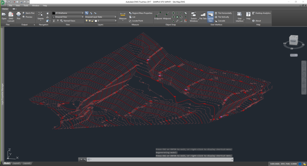 3D Perspective on Contours