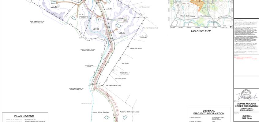 Thomas Wawrzeniak – Subdivision Site Plans