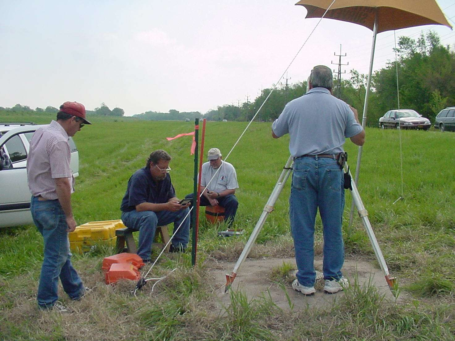 Steven L. Willett, PS, Preferred Land Surveys, KS - 2003 NGS Calibration Baselines