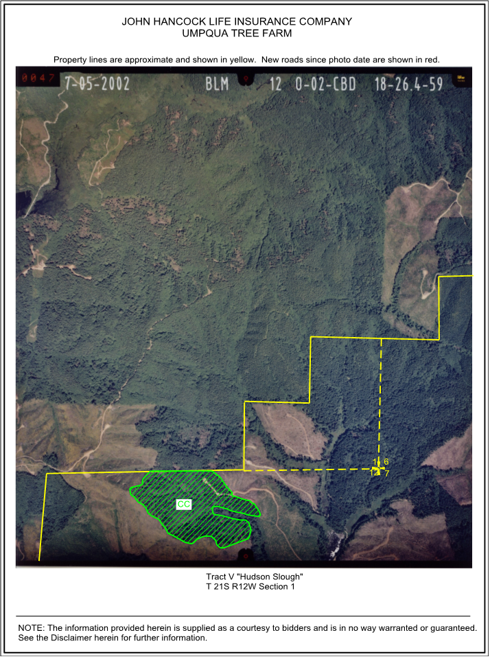 Timber Sale Map